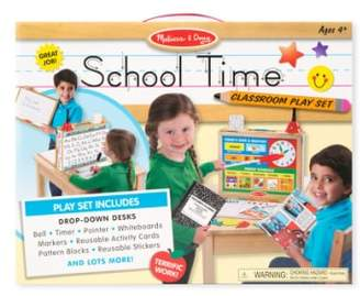 Melissa & Doug 'School Time!' Classroom Play Set