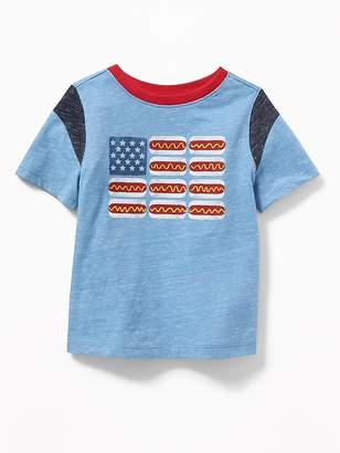 Old Navy Hot Dog Flag-Graphic Tee for Toddler Boys