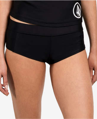Volcom Solid Cheeky Boyshort Women's Swimsuit