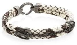 StingHD PythonHD Platinum Braided Bracelet