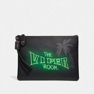 Coach Viper Room Turnlock Pouch
