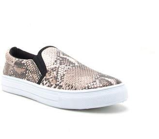Qupid Reba-58b Womens Slip-On Shoes Slip-on Closed Toe