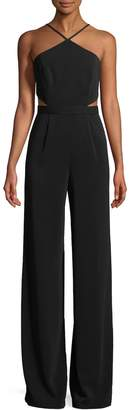 Jay Godfrey Women's Cut-Out Jumpsuit