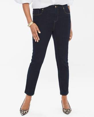So Slimming Diamond Fit Girlfriend Ankle Jeans