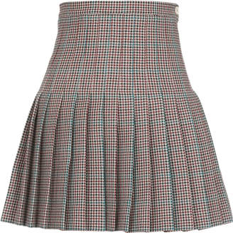 Off-White Off White Wool Skirt