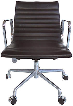 One Kings Lane Vintage Eames Leather Desk Chair