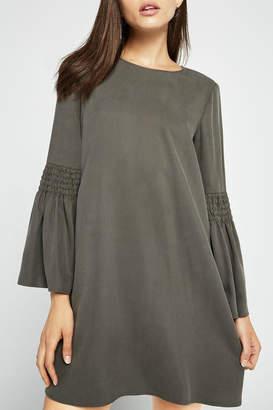 BCBGeneration Long-Sleeve Shift Dress