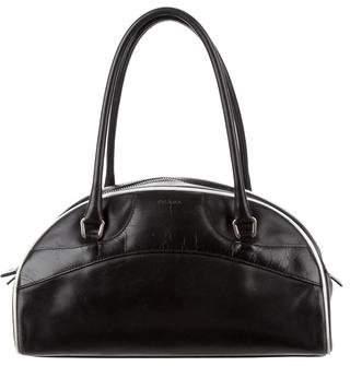 Prada Leather Bauletto Bag