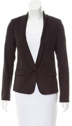 Tibi Shawl Collar Textured Blazer