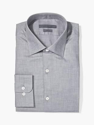 John Varvatos Slim Fit Melange Dress Shirt