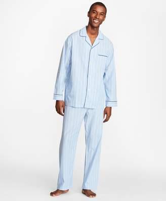 Brooks Brothers Multi-Stripe Pajamas