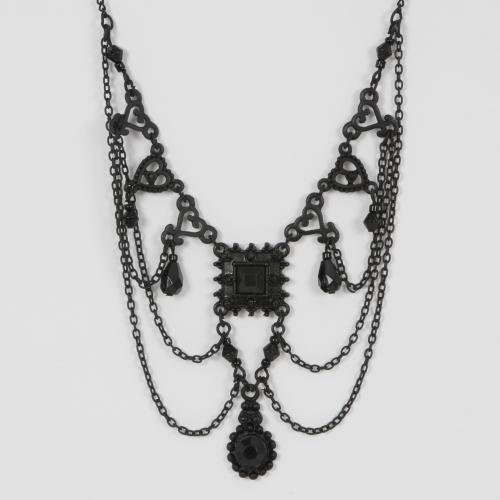 Black Ornate Necklace