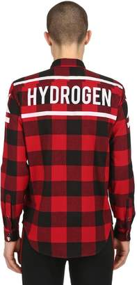 Hydrogen Stars Cotton Flannel Shirt