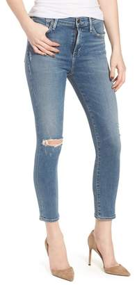 Citizens of Humanity Rocket High Waist Crop Skinny Jeans (Reminisce)