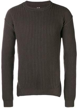 Rick Owens fisherman knit sweater