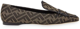 Fendi FFreedom square-toe loafers