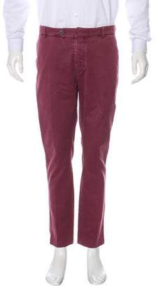 Brunello Cucinelli Flat Front Casual Pants