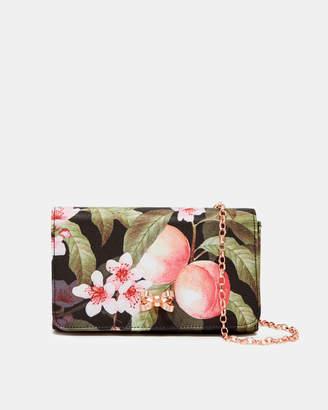 Ted Baker PAULEEN Peach Blossom evening bag