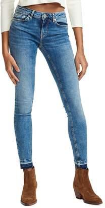 Maje Probin Mid Rise Skinny Jeans in Denim