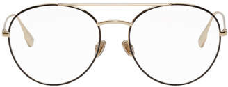 Christian Dior Black and Gold DiorStellaire5 Glasses
