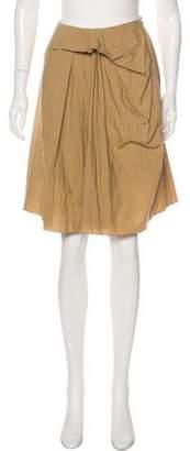 Marni Ruffled Knee-Length Skirt