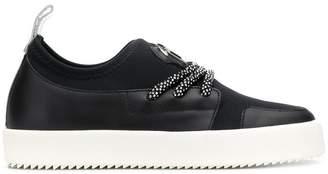 Giuseppe Zanotti Design crystal strap slip-on sneakers