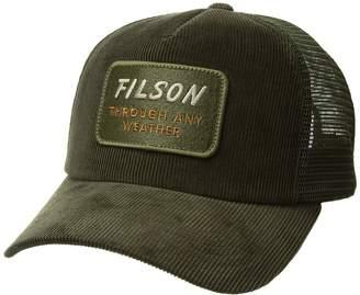 Filson Alcan Cord Mesh Cap Caps