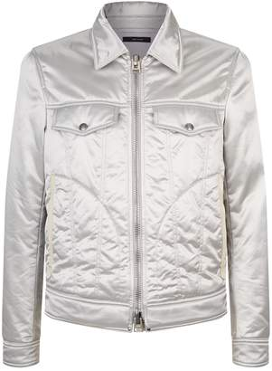 Tom Ford Quilted Spread Collared Jacket