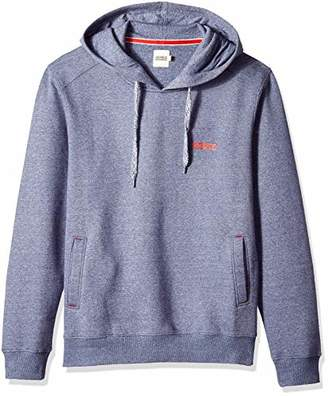 Something for Everyone Men's Basic Polyester Cotton Grindle Fleece Hoodie
