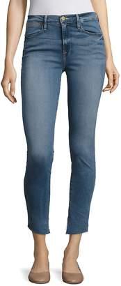 Peserico Women's Le High Asymmetrical Step Hem Skinny Jeans