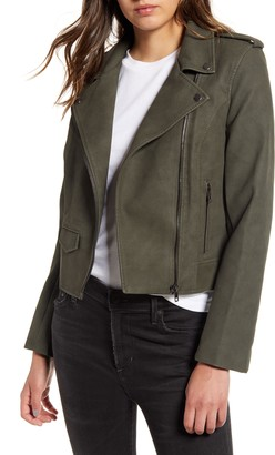 BB Dakota Ain't It Cool Faux Leather Jacket
