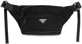 Prada Nylon Canvas Crossbody Bag
