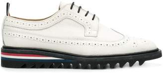 Thom Browne Threaded Sole Longwing Brogue
