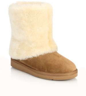 UGGPatten Shearling & Suede Boots