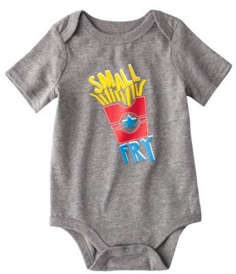 Circo Infant Boys' Short-sleeve Bodysuit - Gray