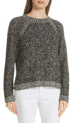 Eileen Fisher Round Neck Boxy Sweater