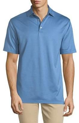 Peter Millar Men's Pleasant Pin Dot Polo Shirt