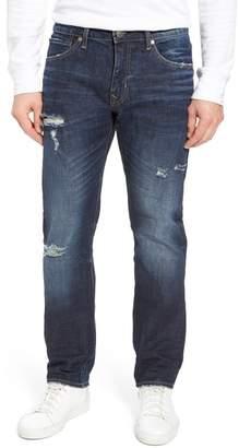 Vigoss Slim Straight Leg Jeans (Dark Wash)