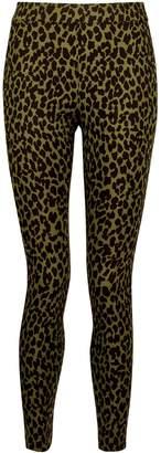 Dorothy Perkins Womens Khaki Animal Print Skinny Trousers