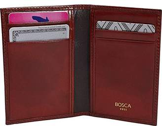 Bosca Old Leather Collection-8 Pocket Credit Card Case