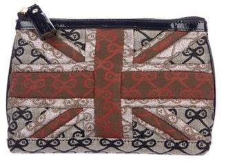 Anya Hindmarch Monogram Canvas Zip Pouch
