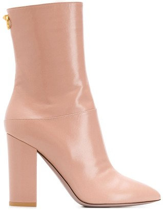 Valentino Ringstud ankle boots