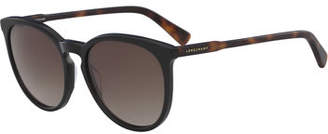 Longchamp Cat-Eye Keyhole Bridge Sunglasses