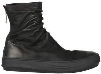Finn The Last Conspiracy Mat Leather High-top Sneakers