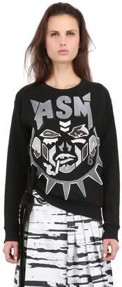Anne Sofie Madsen Embellished Silk Sweatshirt