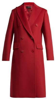 Max Mara Lillo Coat - Womens - Red