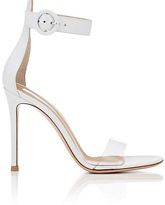 Gianvito Rossi Women's Stella Leather & PVC Sandals - White