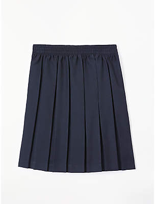 John Lewis Girls' Pleated School Skirt