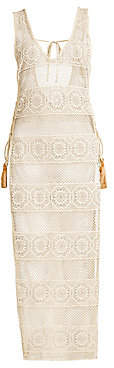 Pilyq Women's Joy Lace Coverup Dress