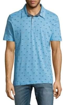 Point Zero Short Sleeve Printed Polo